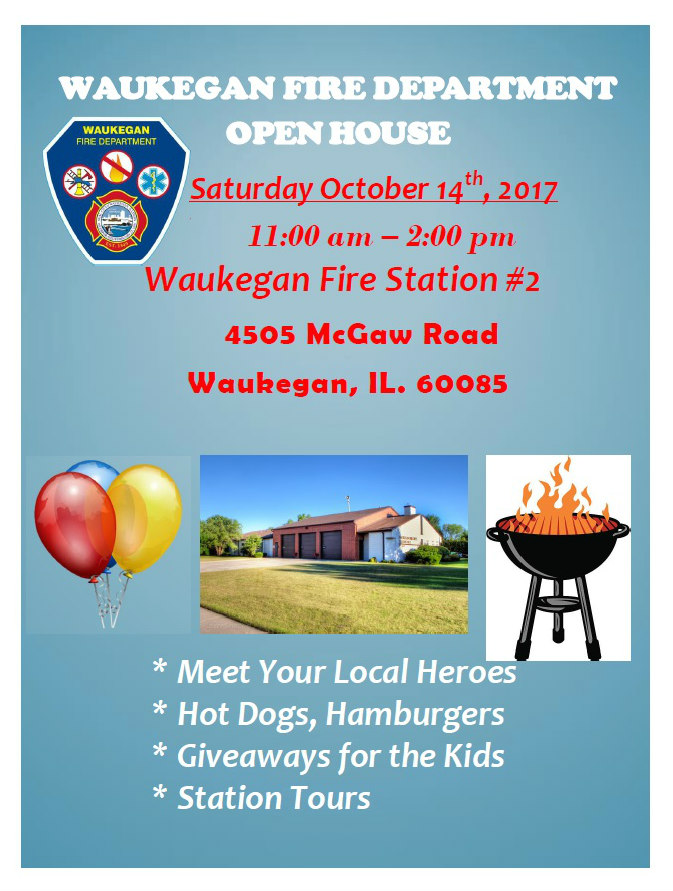Fire Dept Open House at Station 2