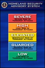 Homeland Security Color-Coded Advisory System