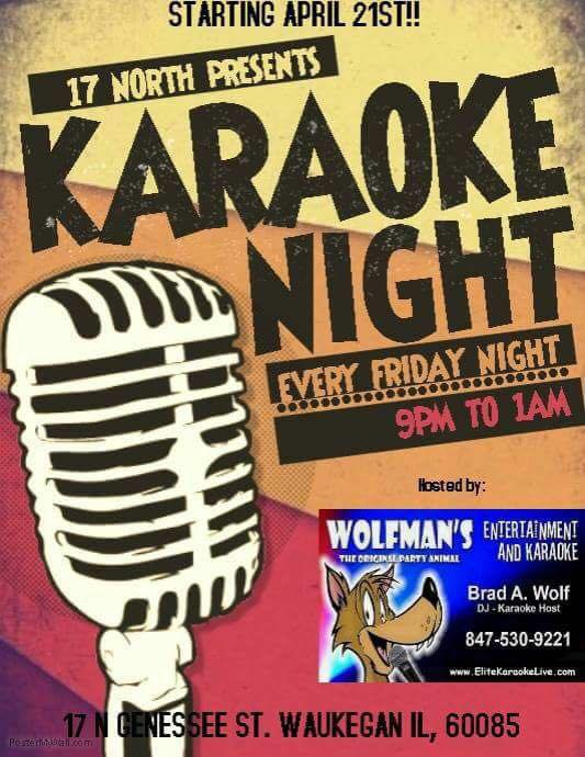 Friday Night Karaoke at 17 North