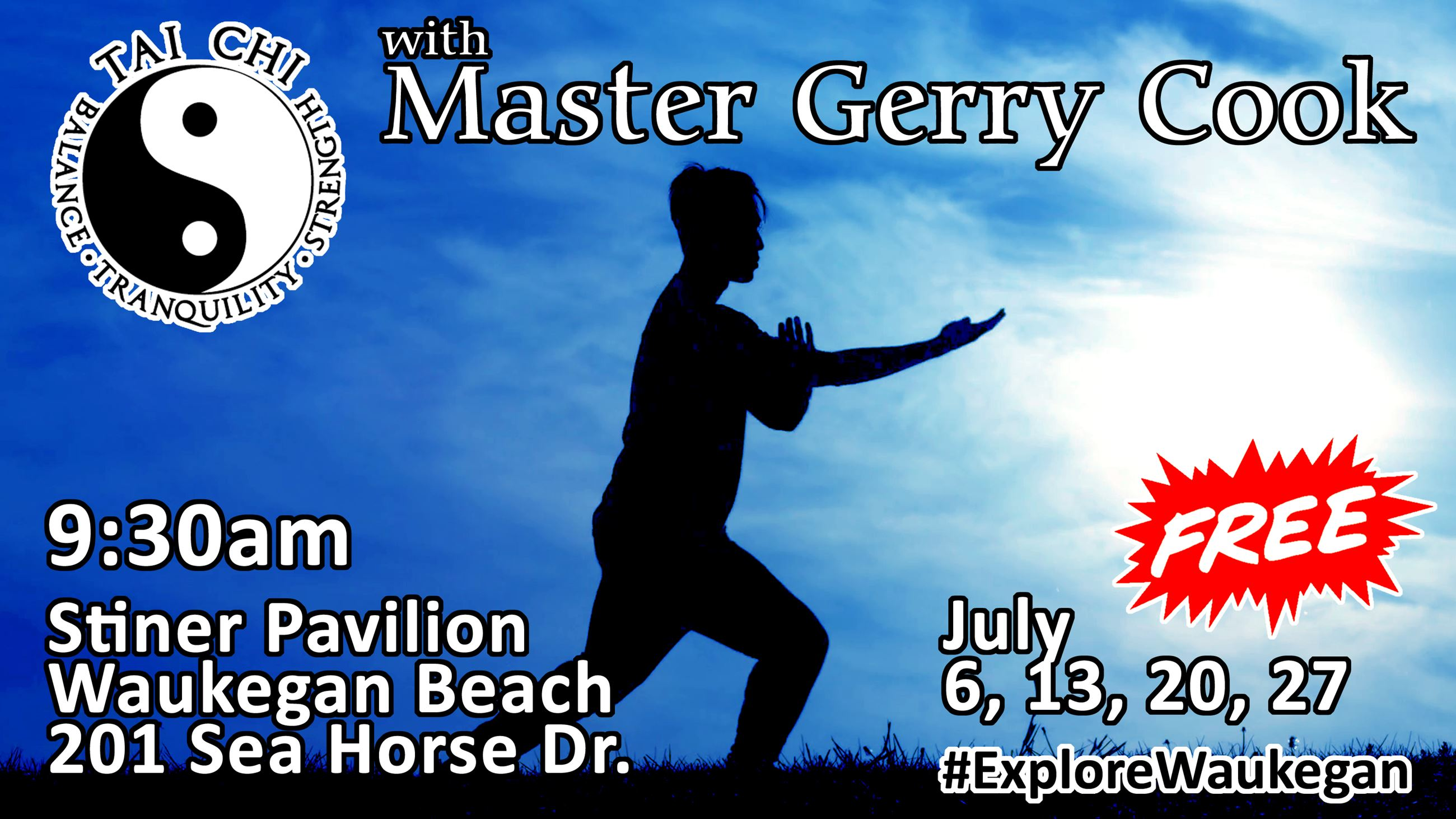 Tai Chi with Master Gerry Cook