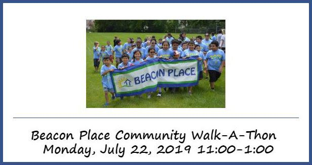 Beacon Place Community Walk-a-thon