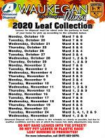 Leaf Collection 2020