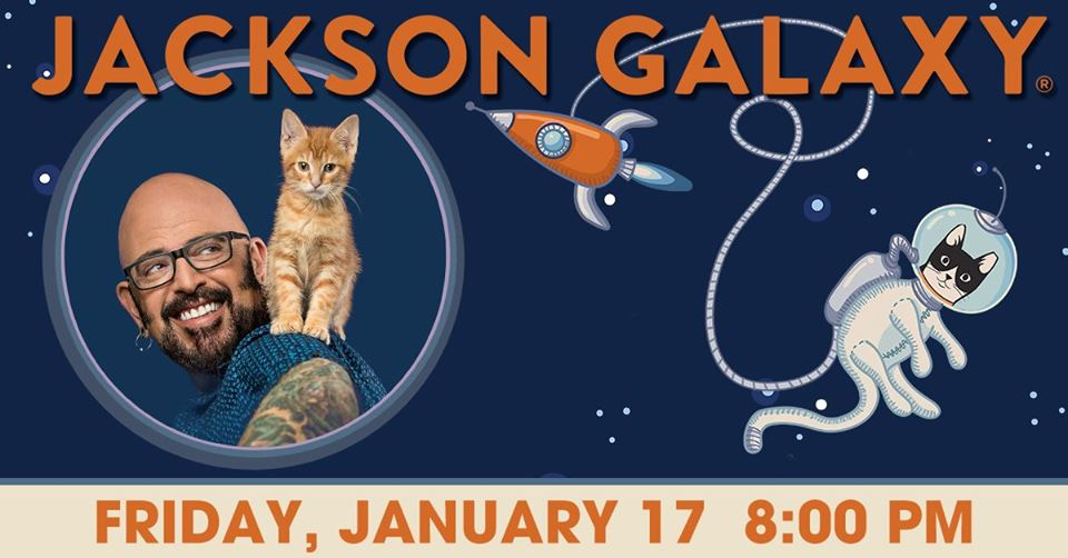 Jackson Galaxy at the Genesee Theatre