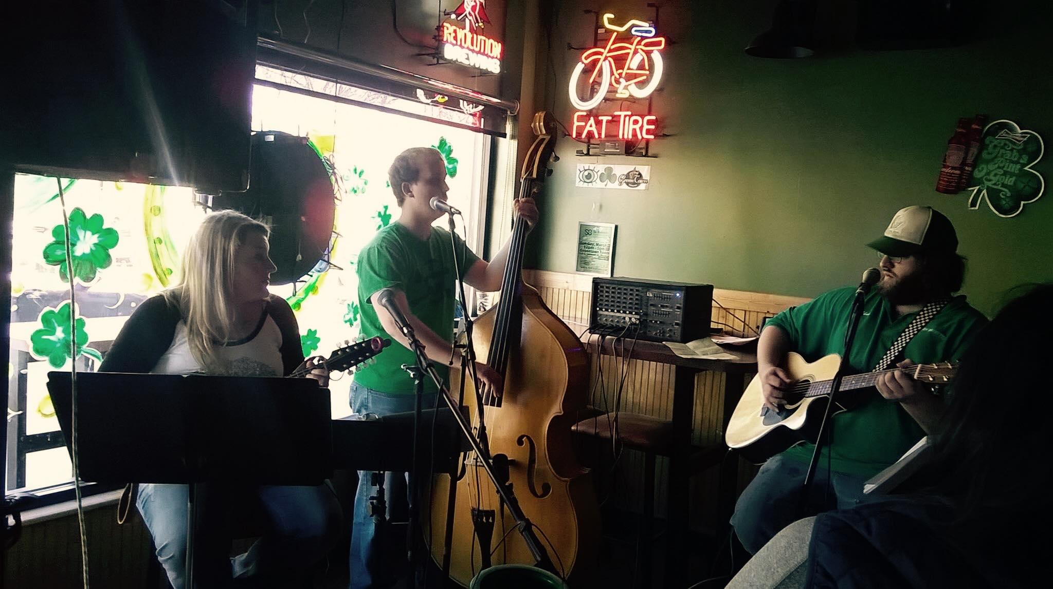 Drunken Guilties live at Green Town on the Rocks' St. Patrick's Day