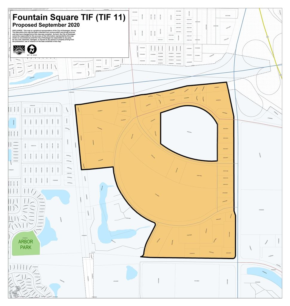 Fountain Square TIF 11 proposed boundary map Sept 2020_REDUCED