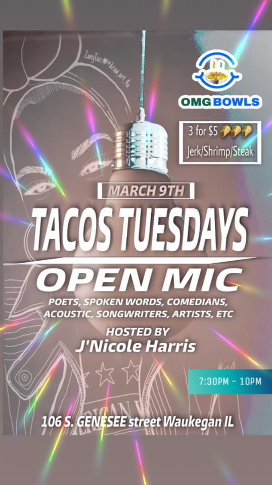Open Mic Night at omgbowls