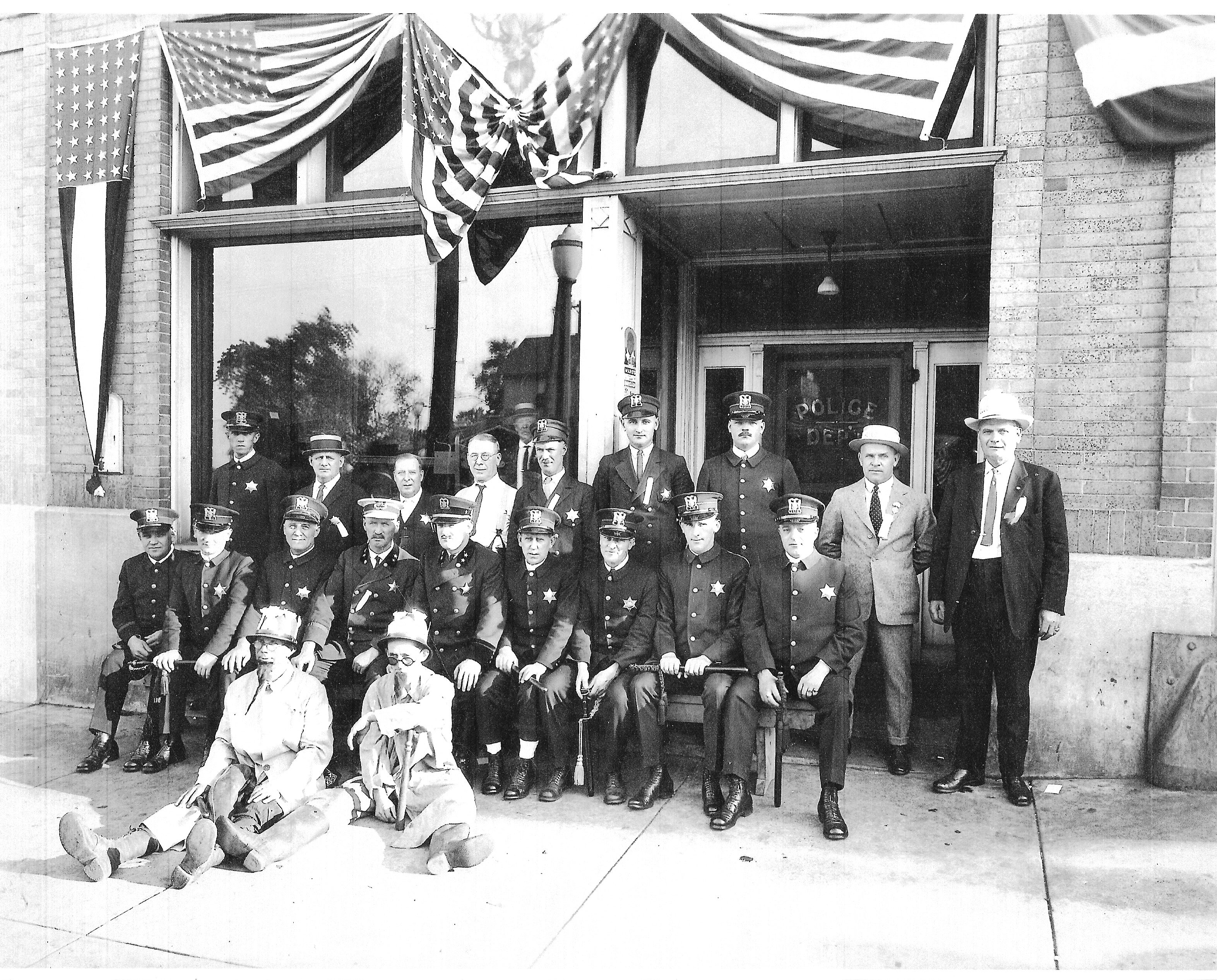 Police Department Staff - 1924