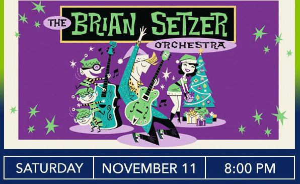 Brian Setzer Christmas.Waukegan Il Official Website