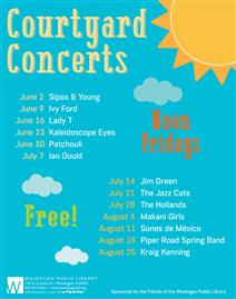 Courtyard Concerts at the Library