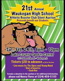 21st Annual Athletic Booster Club Auction