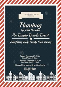 Humbug presented by Cristo Rey St Martin
