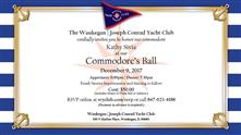 Commodores Ball at the Waukegan Joseph Conrad Yacht Club