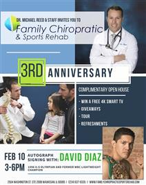 Family Chiropractic and Sports Rehab Open House