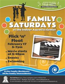 Flick and Float at the Field House