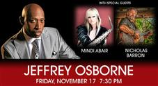Jeffrey Osborne and special guests at the Genesee Theatre