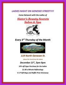 Ladies Night on Genesee Street