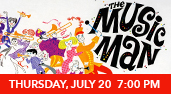 The Music Man at the Genesee Theatre