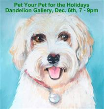 ART Workshop Paint Your Pet for the Holidays