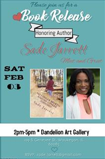 Book Release event with author Sade Jarrett