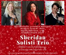 Sheridan Solisti Trio at Family Piano Co