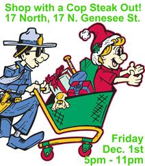 Shop with a Cop Steak Out at 17 North