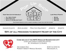 The Sports Shed Pop Up Shop