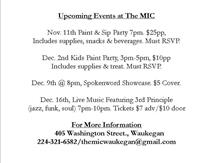 Spokenword Showcase at the MIC