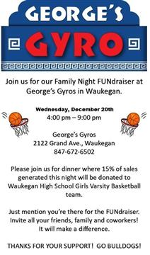 WHS Girls Varsity Basketball Fundraiser