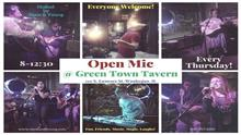 Green Town Open Mic Night with Sipos and Young