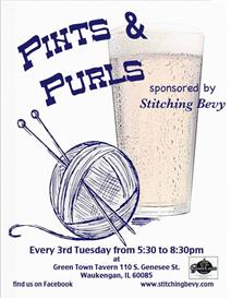 Pints and Purls at Green Town Tavern